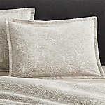 Brice Natural Patterned Standard Sham