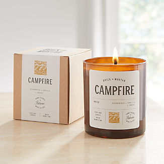 Brick and Mortar Campfire-Scented Candle