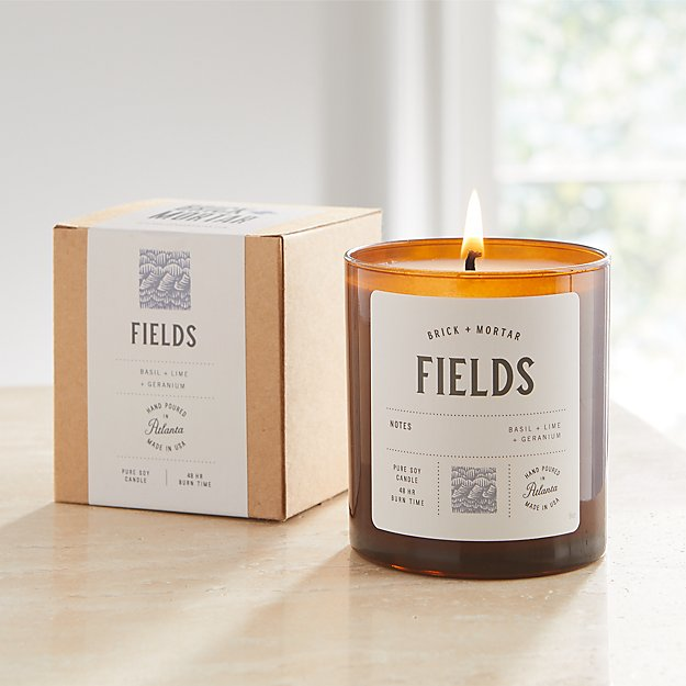 Brick and Mortar Fields-Scented Candle - Image 1 of 2