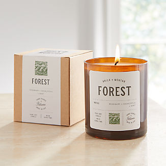 Brick and Mortar Forest-Scented Candle