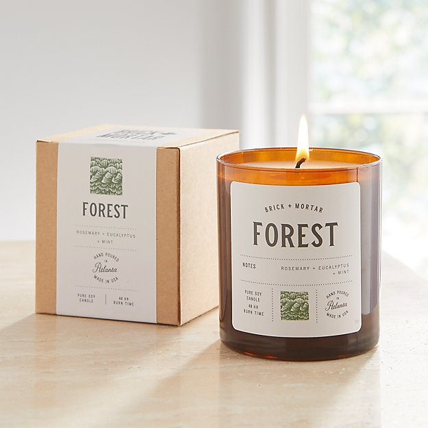 Brick and Mortar Forest-Scented Candle - Image 1 of 3