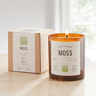 Brick and Mortar Moss-Scented Candle