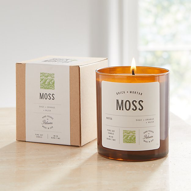 Brick and Mortar Moss-Scented Candle - Image 1 of 3