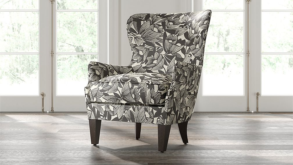 Brielle Wingback Chair - Image 1 of 7