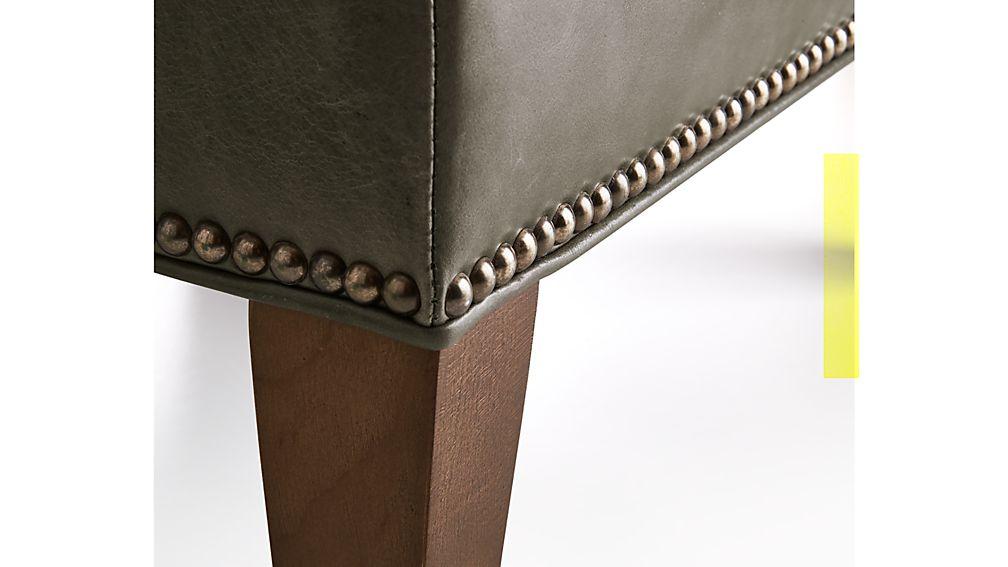 Brielle Leather Ottoman