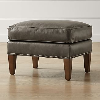 American Made Leather Furniture Crate And Barrel