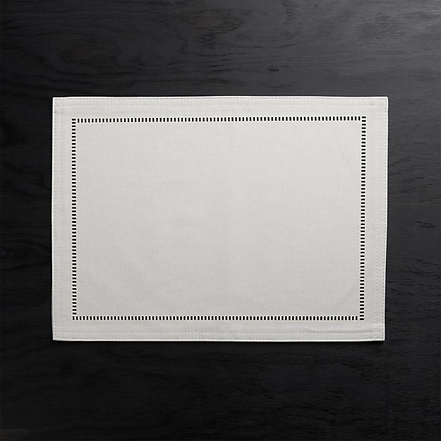 Briggs Beige Placemat - Image 1 of 4