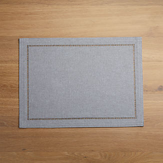 Briggs Grey Placemat