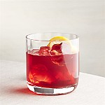 Crescent Optic Double Old-Fashioned Glass