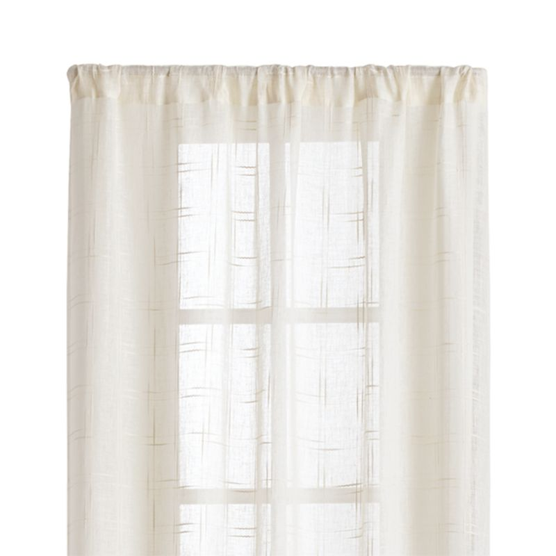 baby curtain p panels kids curtains pom ivory linen trim with nursery