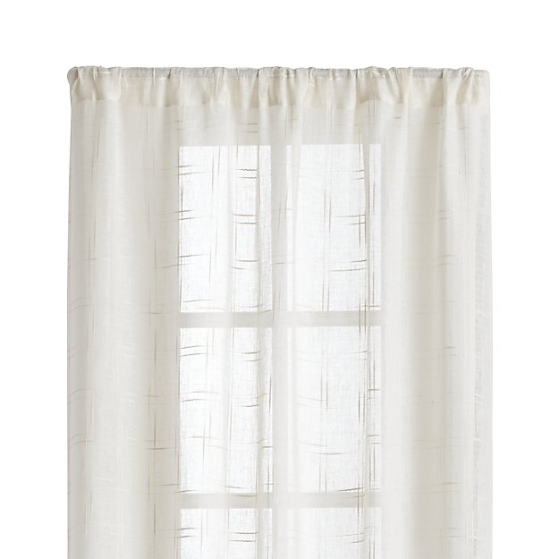 Briza 50 Quot X108 Quot Curtain Panel Crate And Barrel