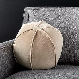 """Brenner Hummus 12"""" Sphere Pillow"""