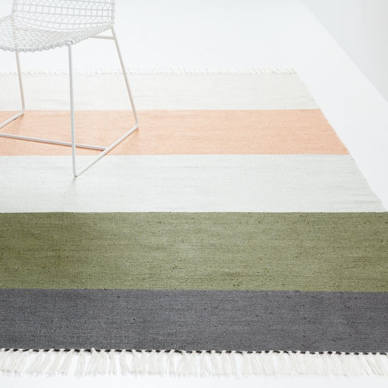 Brody Striped Indoor/Outdoor Rug with