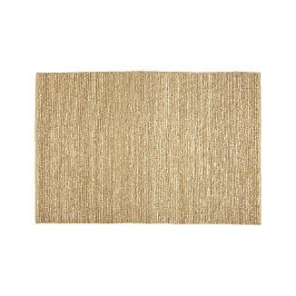 Bronte Parchment Textured Jute Rug 5'x8'