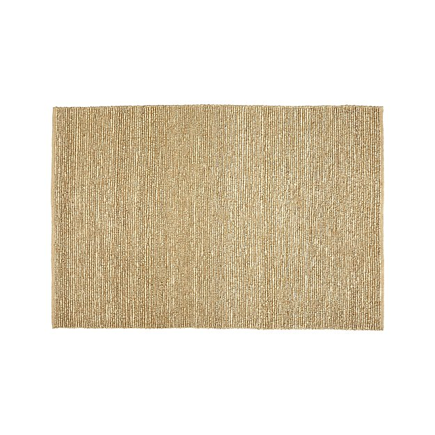 Bronte Parchment Textured Jute Rug 8x10 Reviews Crate And Barrel