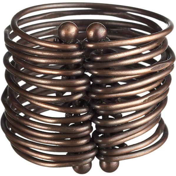 Bronze Bangle Napkin Ring