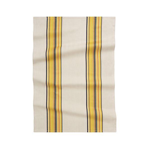 Brooklyn Yellow Dish Towel