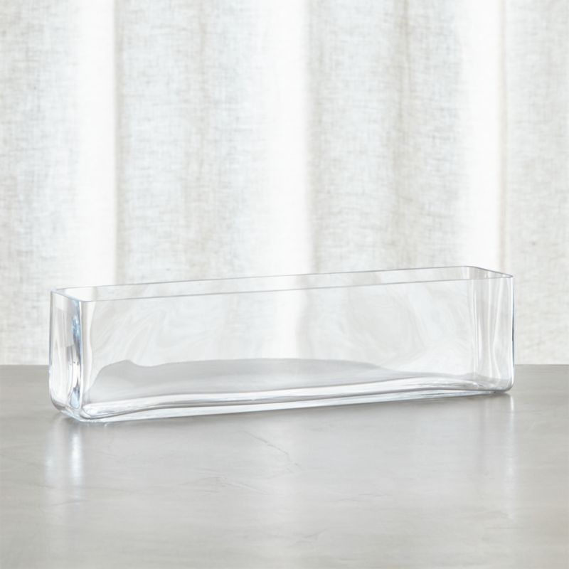 Brooklyn Long Vase Reviews Crate And Barrel