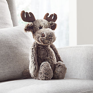 Jellycat ® Brown Woodland Babe Moose