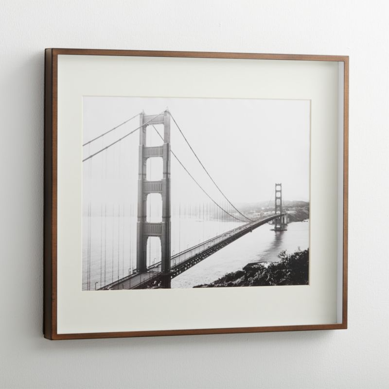 Brushed Silver 11x14 Picture Frame + Reviews | Crate and Barrel