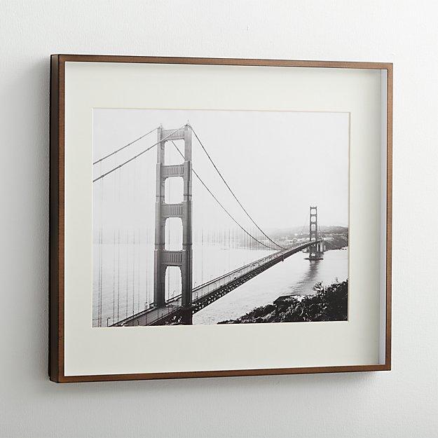 Brushed Antique Bronze 11x14 Frame - Image 1 of 7