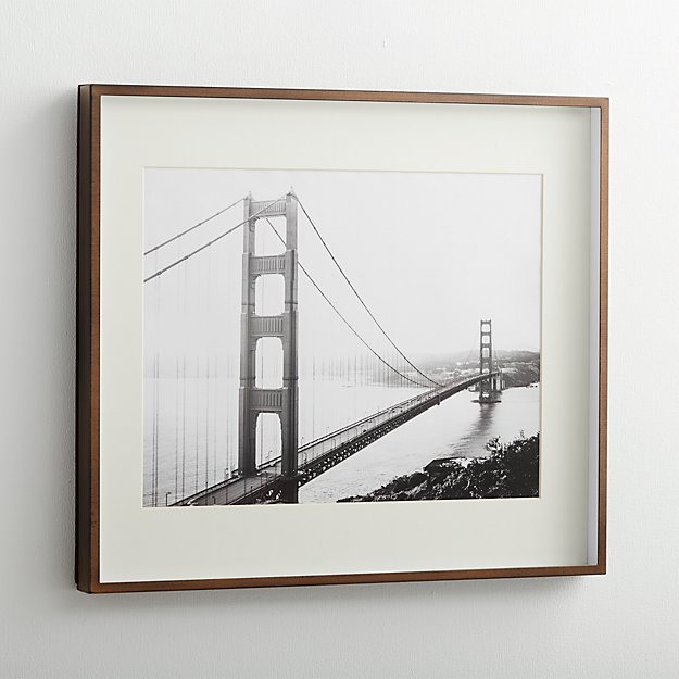 Brushed Antique Bronze 11x14 Frame Reviews Crate And Barrel