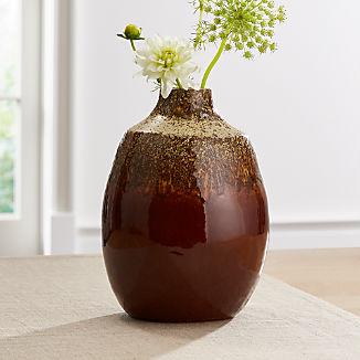 Bruna Burnt Orange Vase