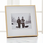 Brushed Brass 8x10 Frame
