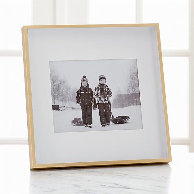 Brushed Brass 8x10 Frame - Image 1 of 8
