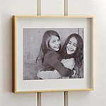 Brushed Brass 11x14 Wall Frame