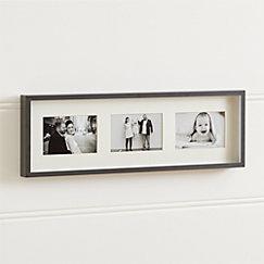 Brushed Gunmetal 3 4x6 Wall Frame
