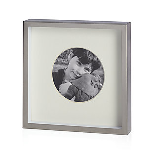 Brushed Silver 8x10 Wall Frame Crate And Barrel