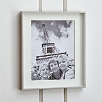 Brushed Silver 11x14 Picture Frame