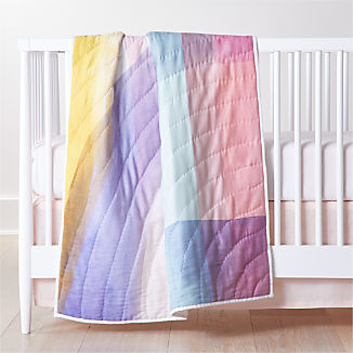 Brushstroke Crib Bedding