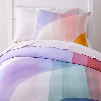 Brushstroke Twin Duvet Cover Reviews, Crate And Barrel Bedding Reviews