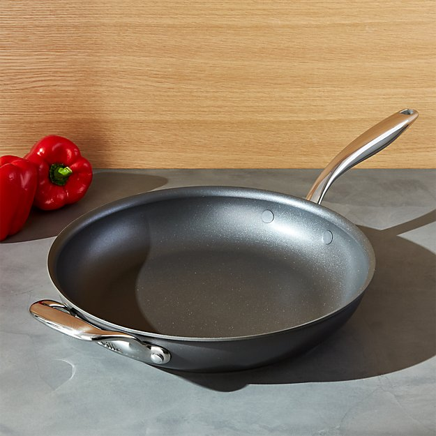 """Breville ® Thermal Pro Hard-Anodized 12"""" Skillet"""