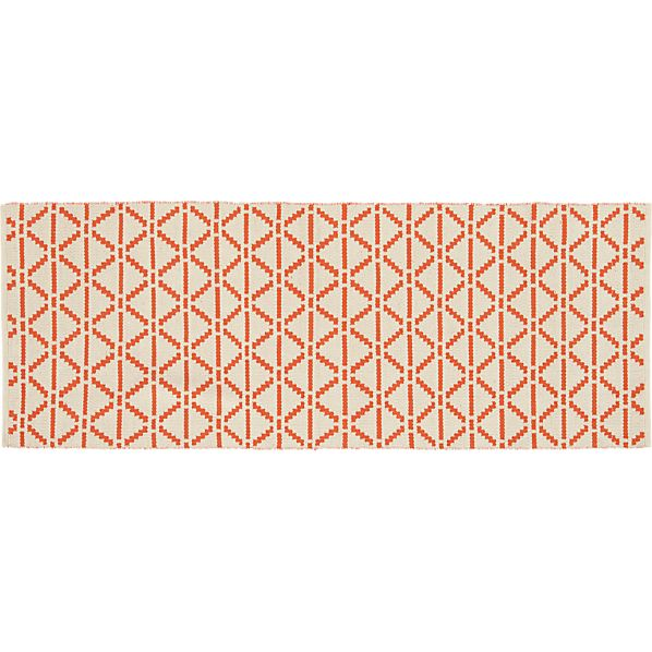Bucato Coral 2.5'x7' Runner