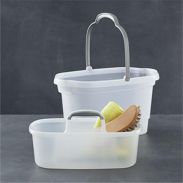 Casabella ® 2-Piece Bucket and Storage Caddy Set