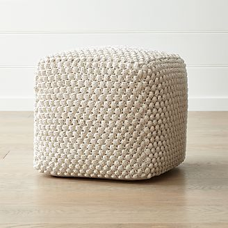 Poufs Crate And Barrel
