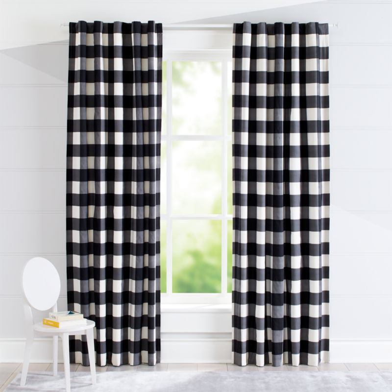 Navy Blackout Bedroom Curtains
