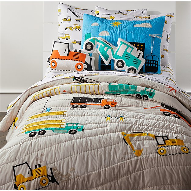 construction bedding crate and barrel