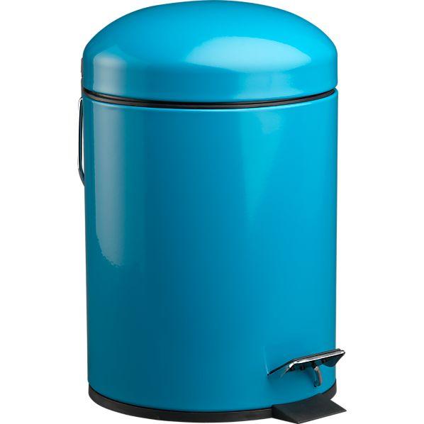 Aqua Bullet 1.3-Gallon Trash Can