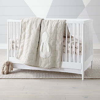 Hoppy Tails Bunny Crib Bedding
