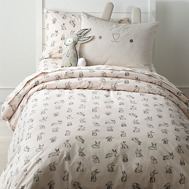Organic Bunny Duvet Cover Crate And Barrel