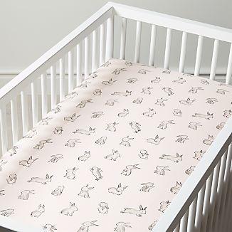 Organic Bunny Crib Ed Sheet