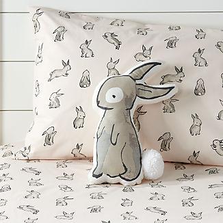 29f7537f5e6 Bunny Throw Pillow