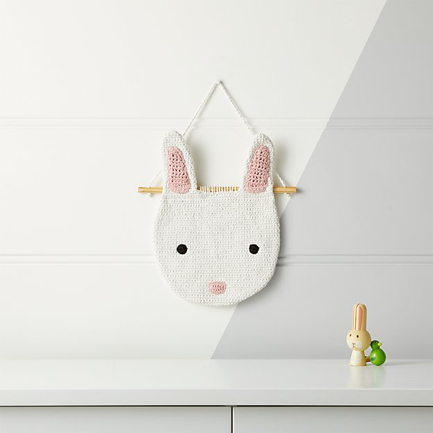 Bunny Woven Wall Art + Reviews | Crate and Barrel