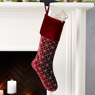 christmas stockings and mantel decor crate and barrel
