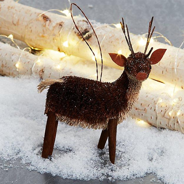 Buri Deer Ornament