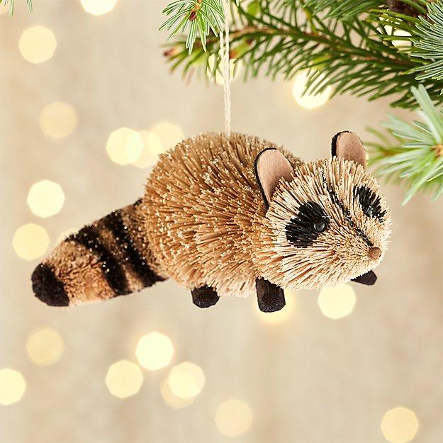 Buri Raccoon Ornament